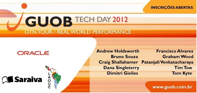[GUOB] Inscrições abertas! GUOB TECH DAY 2012 Valores e Datas